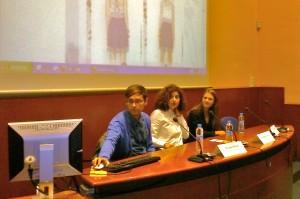 Marijo Torres ,  Jesús Moreno de Malahierba, y Nuria Bordas Diseñadora de UTERQÜE.