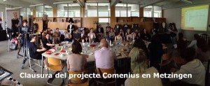 Clausura Comenius a Metzingen 11 juny